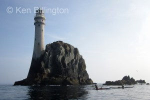 Fastnet Rock from the south-west