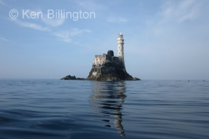 Fastnet Rock with reflection