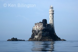 The Fastnet Rock at 8 am