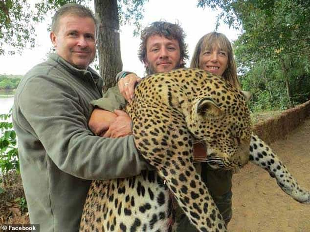 Hunters are forced to sell their supermarket franchise in France after photos of them shooting big game in Tanzania surfaced online