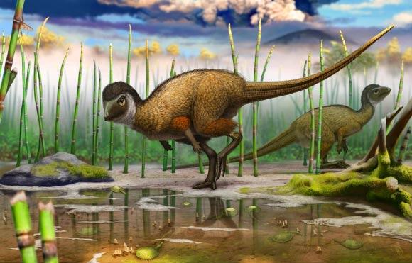 Kulindadromeus zabaikalicus: Feathered Herbivorous Dinosaur Discovered