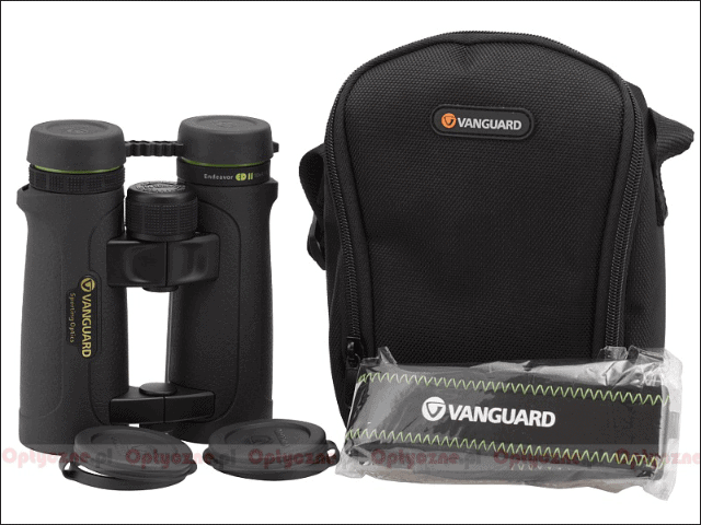 Review Vanguard Endeavor ED II 8×42 binocular