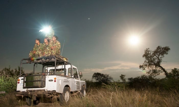 World's first all-female patrol protecting South Africa's rhinos