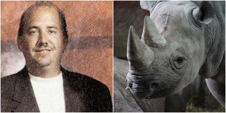 Michigan Man Pays $400,000 to Kill Harmless Rare Black Rhinoceros