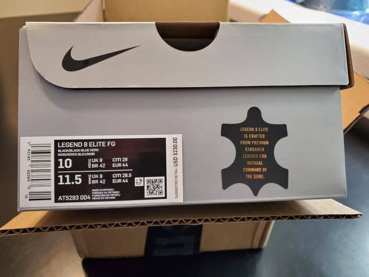Nike side box