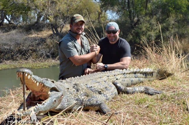 Trophy Hunter Gets Eaten by Crocodiles