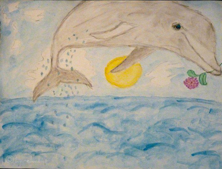 Dolphin In Freedom