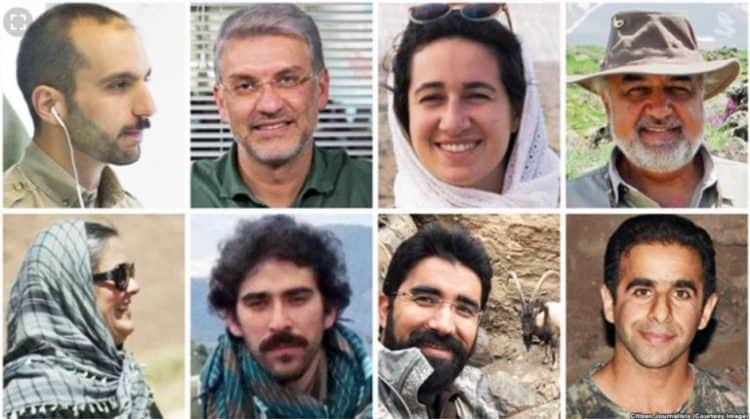 Five wildlife conservationists held by Iran could face the death penalty