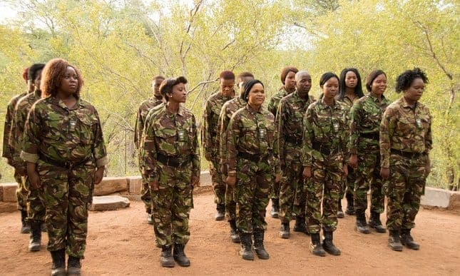 The all-female patrol stopping South Africa's rhino poachers