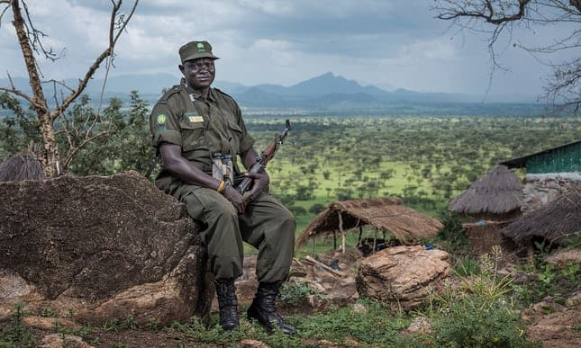 'You will never run from death': shot by poachers in Uganda